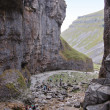 Stock Photo: Gordale scar