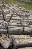 Limestone rocks above Malham — Stock Photo
