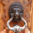 Royalty-Free Stock Photo: Lion door knocker