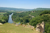Dordogne from Chateau Beynac — Foto Stock