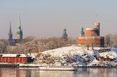 Stockholm winter view — Stock Photo