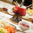 Stock Photo: Fondue bourguignonne
