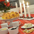 Swedish advent celebration — Stock Photo