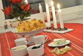 Swedish advent celebration — Stockfoto