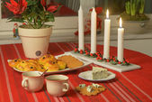 Swedish advent celebration — Stok fotoğraf