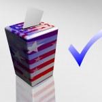 Voting yes — Stock Photo