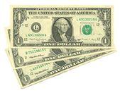 Three dollars three dollars — Stock Photo