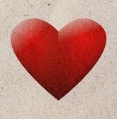 Coeur de sable — Photo