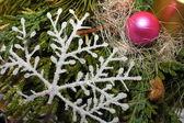 Christmas snowflake — Stock Photo