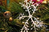 Jul snöflinga — Stockfoto