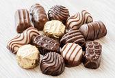 Chocolate confectionery — Stock Photo