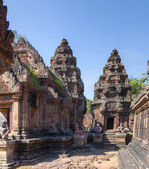 Banteay srey tempel — Stockfoto