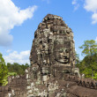 Faces of Bayon temple — Stock Photo #12861979