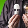 Choices of energy — Stock Photo