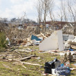 Tornado aftermath in Henryville, Indiana - Стоковая фотография
