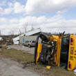 Tornado aftermath in Henryville, Indiana - Stock fotografie