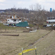 Tornado aftermath in Henryville, Indiana - Stockfoto