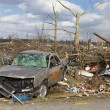 Tornado aftermath in Henryville, Indiana — ストック写真