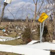 Tornado aftermath in Henryville, Indiana - Foto de Stock  