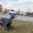 Tornado aftermath in Henryville, Indiana - 图库照片