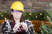 Holiday safety — Stock Photo