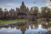 храм байон — Стоковое фото
