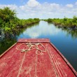 Traveling through Tonle Sap Lake — Stock Photo