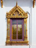 Thai window — Stock Photo