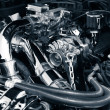 Car engine — Stock Photo #20417935