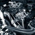 araba motoru — Stok fotoğraf