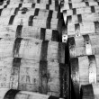 Royalty-Free Stock Photo: Bourbon barrels