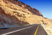 Desert highway — Fotografia Stock