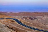 Evening in the desert — Stock Photo