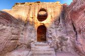 Petra mezarlar — Stok fotoğraf