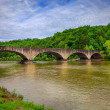 Bridge over Cumberland River — Stock Photo
