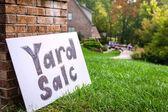 Yard sale — Zdjęcie stockowe