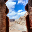 Stock Photo: Tomb in Petra