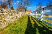 Due recinzioni — Foto Stock