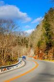 Estrada sinuosa em kentucky — Fotografia Stock