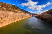 Kentucky River Palisades — Stockfoto