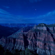 Grand Canyon in moonlight — Stock Photo #3968703