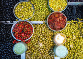 Olives for sale — Stock Photo