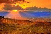 Golan tepeleri vadide — Stok fotoğraf