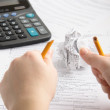 Tax time frustrations — Stock Photo #4131532