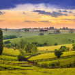 Kentucky Bluegrass region — Stock Photo #45957273