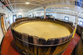 Bourbon fermenting room — Stock Photo