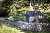 Stone shed — Zdjęcie stockowe