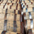 Bourbon barrels — Stock Photo #47058343
