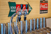 Fontanna soda — Zdjęcie stockowe