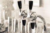 Soda Fountain Nozzles — Stock Photo